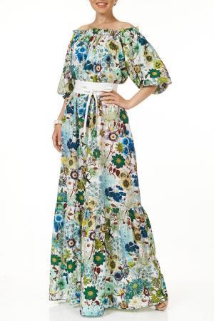 Платье Argent. Цвет: мультиколор