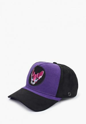 Бейсболка Avanta. Цвет: фиолетовый