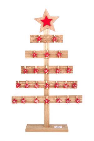Елка на 24 желания DUE ESSE CHRISTMAS. Цвет: коричневый