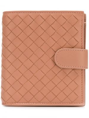 Intrecciato wallet Bottega Veneta. Цвет: нейтральные цвета