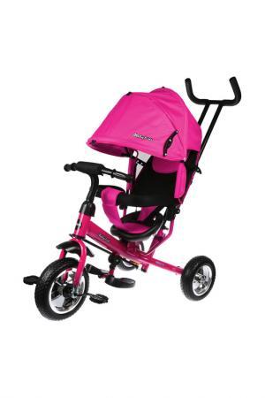 Велосипед 3-х колесный MOBY KIDS. Цвет: розовый