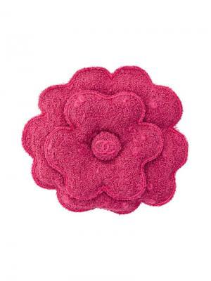 Шерстяная брошь Chanel Vintage. Цвет: розовый