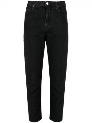 Укороченные зауженные джинсы Isabel Marant Étoile. Цвет: черный