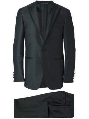 Классический костюм Canali. Цвет: серый
