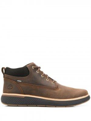 Ботинки Cross Mark Timberland. Цвет: коричневый
