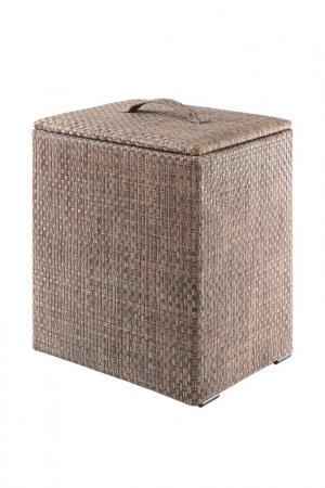 Корзина для мусора CASY HOME. Цвет: коричневый