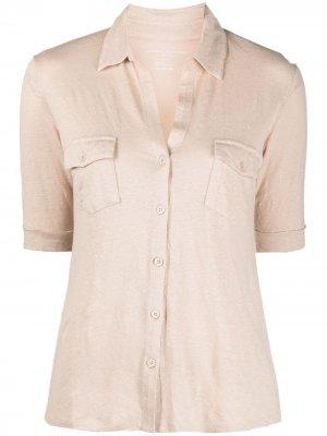 Рубашка с короткими рукавами Majestic Filatures. Цвет: нейтральные цвета