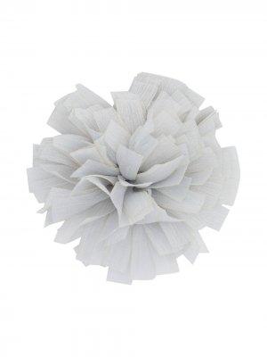 Caffe Dorzo брошь в виде цветка Caffe' D'orzo. Цвет: серый