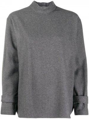 Рубашка с пуговицами на спине Jejia. Цвет: серый