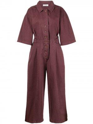 Комбинезон Larchmont с широкими брюками Rachel Comey. Цвет: красный