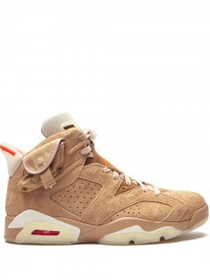 Кроссовки Air  6 Retro Jordan. Цвет: нейтральные цвета
