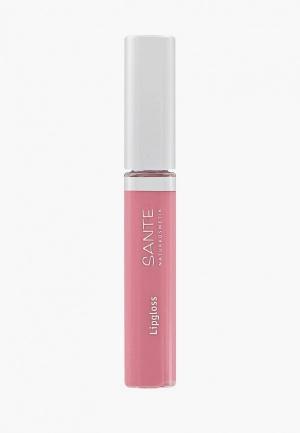 Блеск для губ Sante. Цвет: розовый