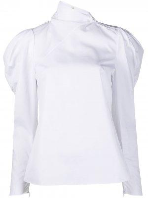 Блузка Cedric с длинными рукавами Erdem. Цвет: белый