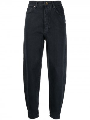 Зауженные брюки с завышенной талией Essentiel Antwerp. Цвет: черный