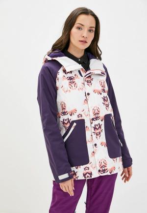 Куртка горнолыжная Burton. Цвет: фиолетовый