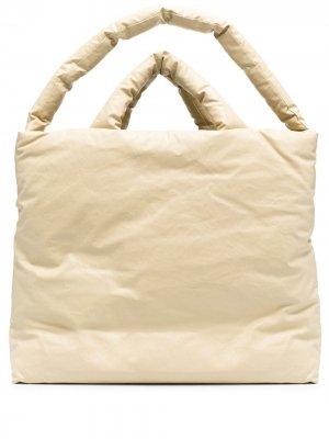 Большая сумка-тоут KASSL Editions. Цвет: нейтральные цвета