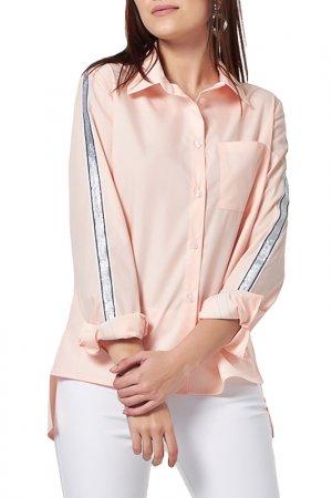 Рубашка Fly. Цвет: персиковый