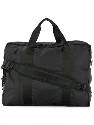 Прямоугольная сумка-тоут Norse Projects. Цвет: черный