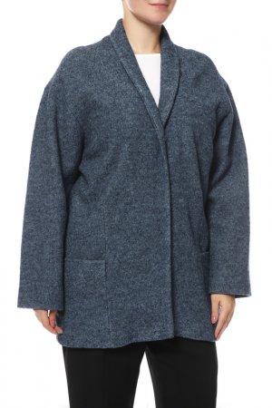 Пальто КОРУ-СТИЛЬ. Цвет: indigo