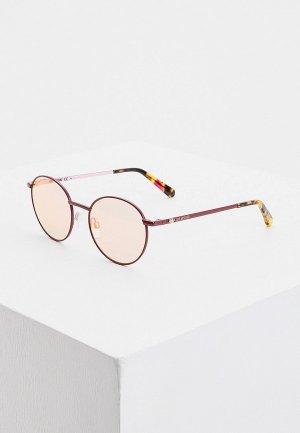 Очки солнцезащитные Love Moschino. Цвет: розовый