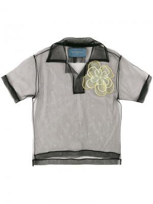 Рубашка-поло Not Just A Polo. Icon 1.2 Viktor & Rolf. Цвет: черный