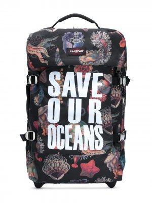 Чемодан Save Our Oceans Vivienne Westwood. Цвет: черный