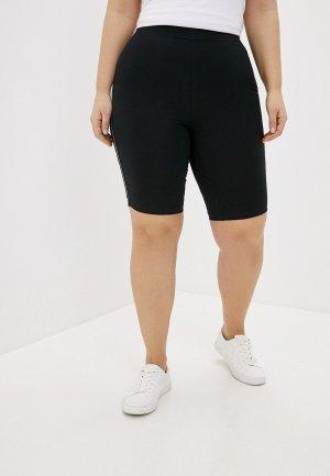 Капри Vero Moda Curve. Цвет: черный