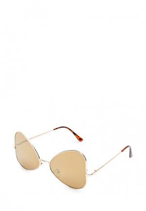 Очки солнцезащитные Noryalli. Цвет: золотой