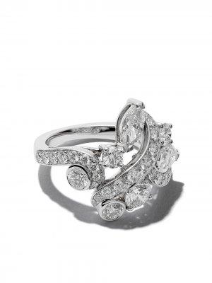 Кольцо Adonis Rose из белого золота с бриллиантами De Beers. Цвет: белый