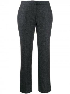 Прямые брюки Alexander McQueen. Цвет: серый
