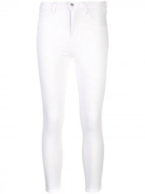 LAgence укороченные джинсы скинни L'Agence. Цвет: белый