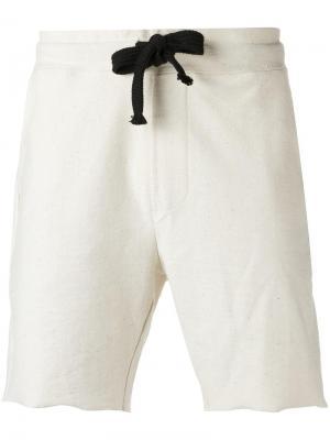 Шорты-бермуды с карманами по бокам Osklen. Цвет: нейтральные цвета