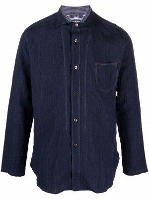 Рубашка с длинными рукавами Junya Watanabe MAN. Цвет: синий