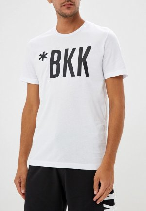 Футболка Bikkembergs. Цвет: белый