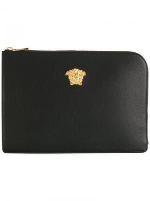 Чехол для ноутбука Medusa Versace. Цвет: черный