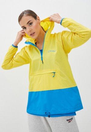 Куртка Berghaus. Цвет: желтый