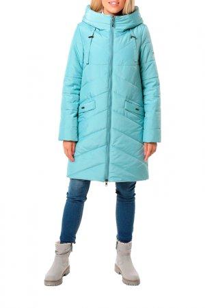 Пальто укороченное DizzyWay. Цвет: ментол