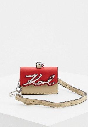 Брелок Karl Lagerfeld. Цвет: разноцветный