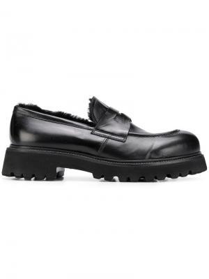 Chunky loafers Rocco P.. Цвет: черный