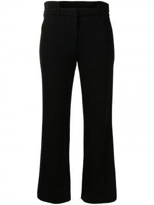 Укороченные брюки строгого кроя Givenchy Pre-Owned. Цвет: черный