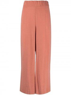 Укороченные брюки широкого кроя Fay. Цвет: оранжевый