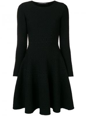 Structured skater dress Antonino Valenti. Цвет: черный