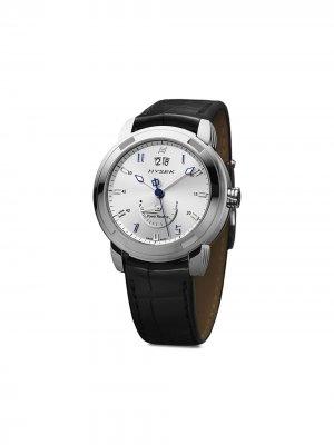 Наручные часы Power Reserve 42 мм Jorg Hysek. Цвет: серебристый