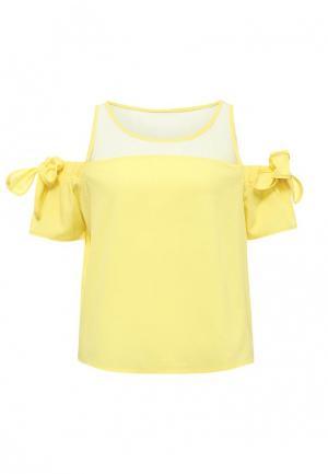 Блуза Tom Farr. Цвет: желтый