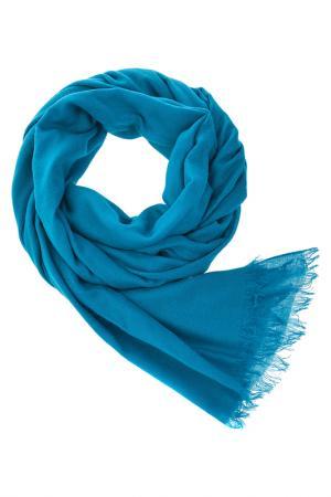 Палантин Michel Katana. Цвет: голубой