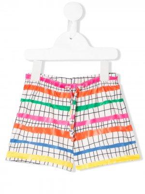 Плавки-шорты с принтом Olympic Steps Noé & Zoë. Цвет: нейтральные цвета