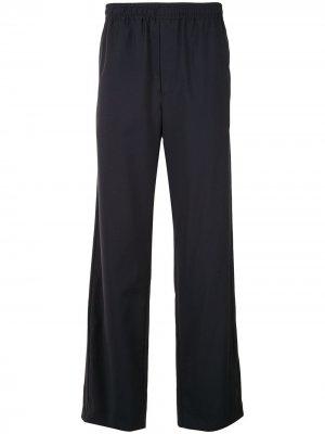 Спортивные брюки Qasimi. Цвет: синий