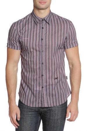 Рубашка CNC Costume National C'N'C. Цвет: фиолетовый