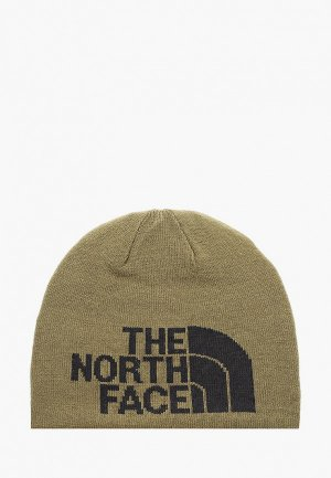 Шапка The North Face. Цвет: хаки