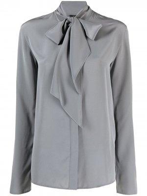 Блузка с завязками Joseph. Цвет: серый